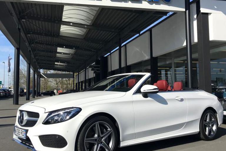 importation voitures Mercedes